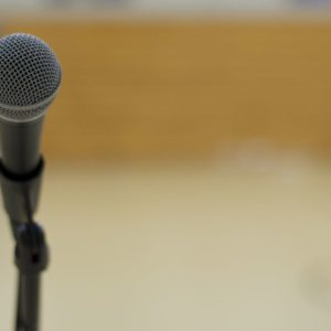 """""""Microphone"""" by evanforester is licensed under CC BY 2.0"""